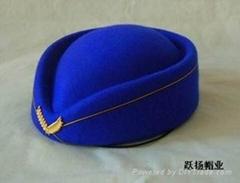 羊毛空姐帽