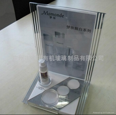 亚克力化妆品展示架