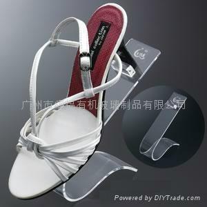有機玻璃鞋架 1
