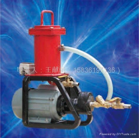 便攜式濾油機 1