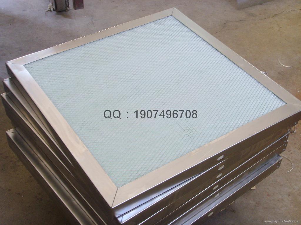初效空氣過濾器板框式 1