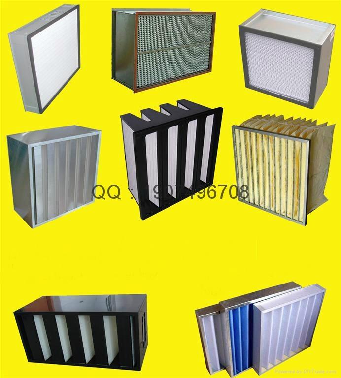 初效空氣過濾器板框式 4