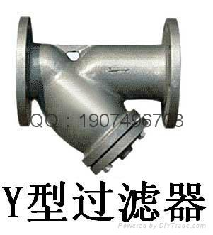 Y型T型籃式管道過濾器 1