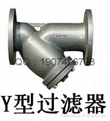 Y型T型籃式管道過濾器