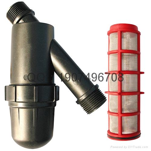 Y型T型籃式管道過濾器 2