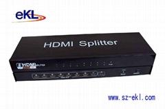 HDMI分配器一進十六出
