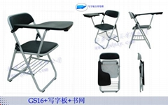 折叠椅 塑钢折叠培训椅