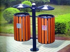 廣州鋼木垃圾桶