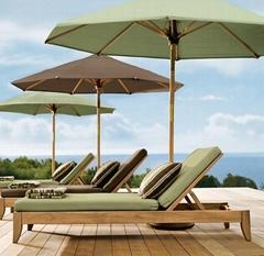 實木沙灘椅