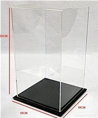 OEM and ODM acrylic sport ball display box