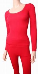 Ladies Cotton Thermal Underwear Set