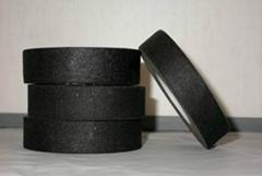 Black color cotton insulation tape