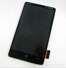 lcd screen with digitizer assembly for HTC HD7