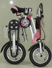 one-second folding e-bike with li-ion battery