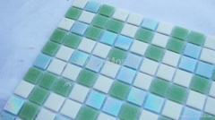 Glamour Glass Mosaic Tile Hot Melted Glass Mosaic