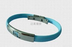 硅胶能量手环