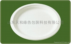 一次性纸浆餐具