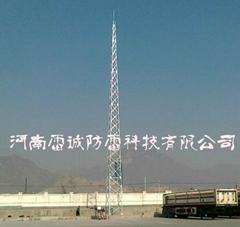 GFL系列四角钢结构避雷针塔