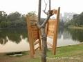 2011新款便携式折叠椅实木折