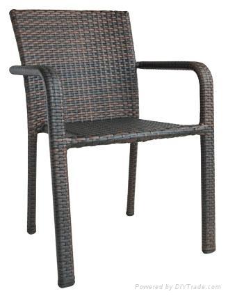 European Style Rattan Chair Bz Cr Boze China