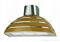hemisphere style range hood