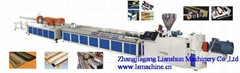 PVC trunking making machine