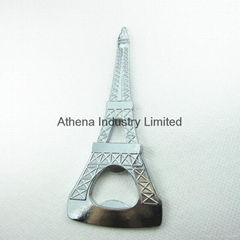 Eiffel Tower metal wine bottle opener