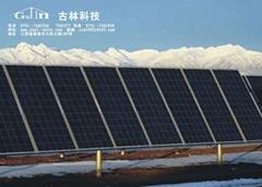 古林太阳能单柱并列地面支架系统