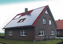 古林太阳能屋顶安装系统