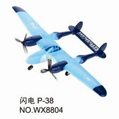 闪电P-38 8804