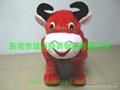 小動物毛絨車款式多樣化的電動毛絨玩具車! 2