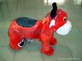 小動物毛絨車款式多樣化的電動毛絨玩具車! 3