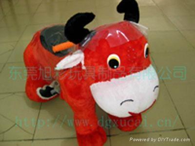 小動物毛絨車款式多樣化的電動毛絨玩具車! 5