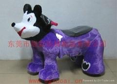 广东省的电动玩具车带毛绒的电动儿童玩具车!