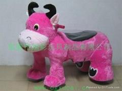 小福牛儿童电动玩具车游乐机!
