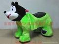 遥控型儿童电动毛绒玩具车! 5