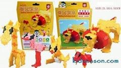 益智玩具LAQ教育積木MINI獅子
