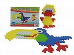 五合一300块DIY软性3D魔术积木