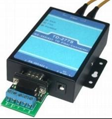 RS485转CAN光纤调制解调器TD-277S