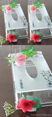酒店用品-有機玻璃抽紙盒