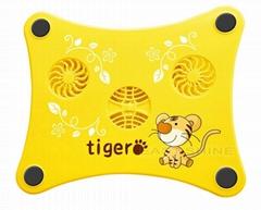 USB Laptop Cooling Pad- Tiger