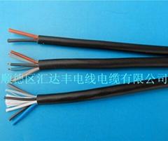 橡胶线插头连接线