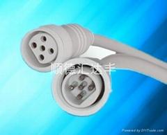 2-4芯防水连接器