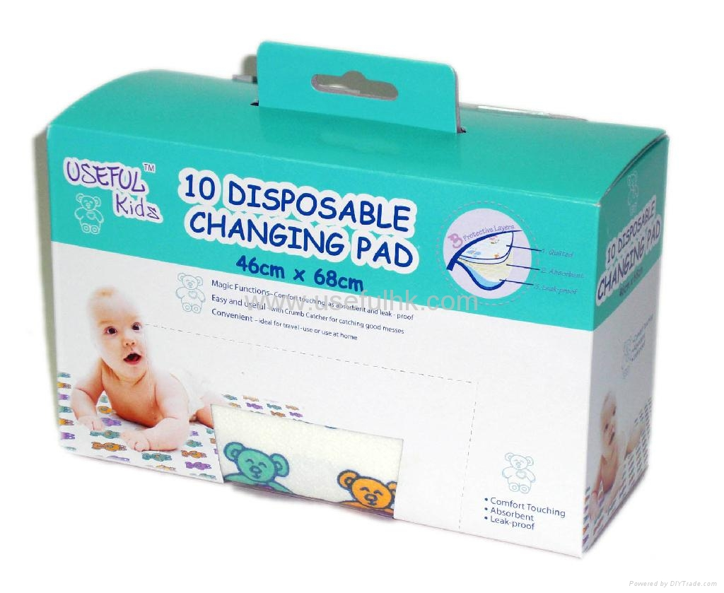 Disposable Diaper Changing mat B3S3BBB10 Usefulkids China