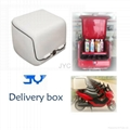 motorcycle Delivery Box With Removable Clapboard and Insulated Layer (BT-04) 1