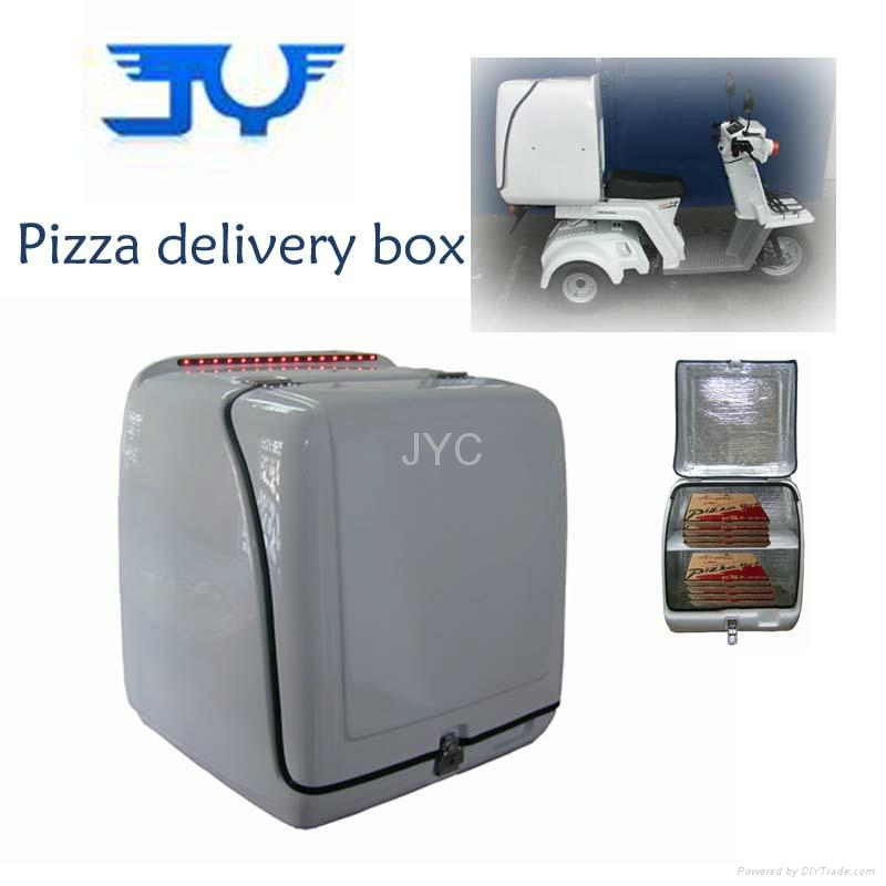 Scooter Pizza Delivery Box With Large Room 1