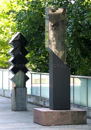 不鏽鋼雕塑 1
