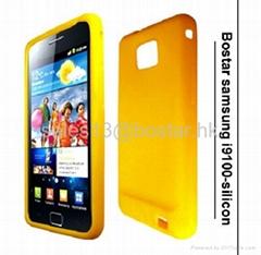 colorful silicon case for SAMSUNG Galaxy i9100