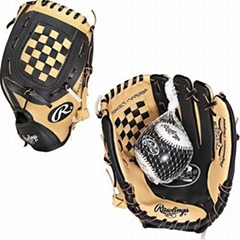 Rawlings PL195CB Players Series 9.5 Inch Youth T-Ball Glove with Soft Core Train