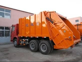 HOWO garbage truck 1